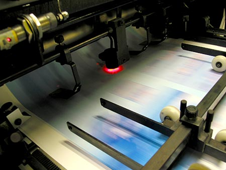 commercial climate controlled offsetprinting environment
