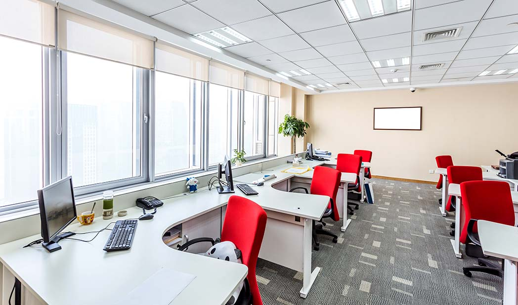 Office air conditioning heat pump